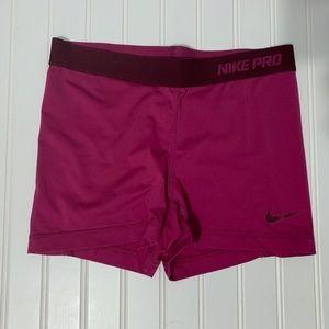 Nike Pro Running Training Dri-Fit Shorts Size M